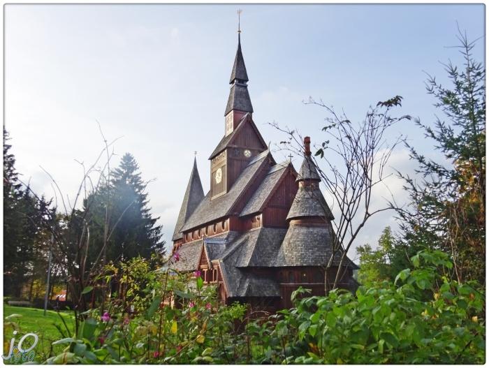 Eine norwegische Kirche imOberharz