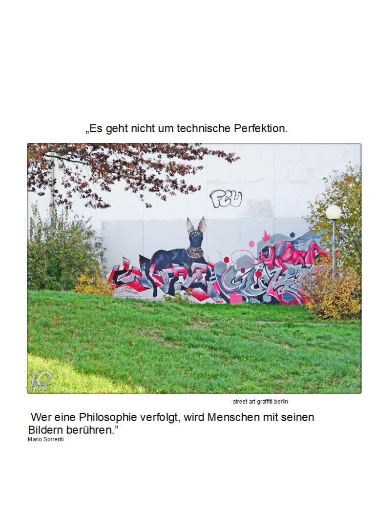 """""""Es geht nicht um technische Perfektion. Wer eine Philosophie verfolgt, wird Menschen mir seinen Bildern berühren.""""3"""