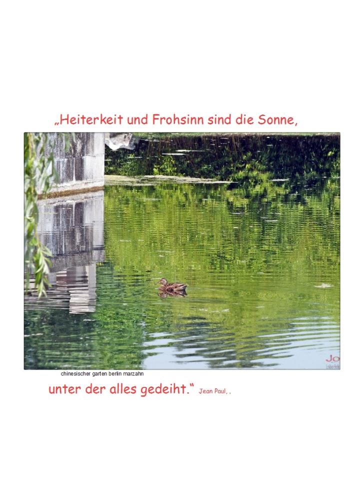 #Heiterkeit + #Frohsinn