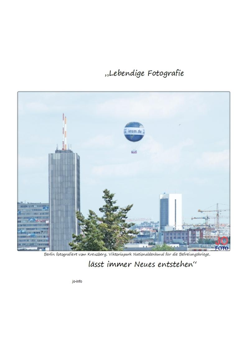 """""""Lebendige Fotografie lässt immer Neues entstehen""""101"""