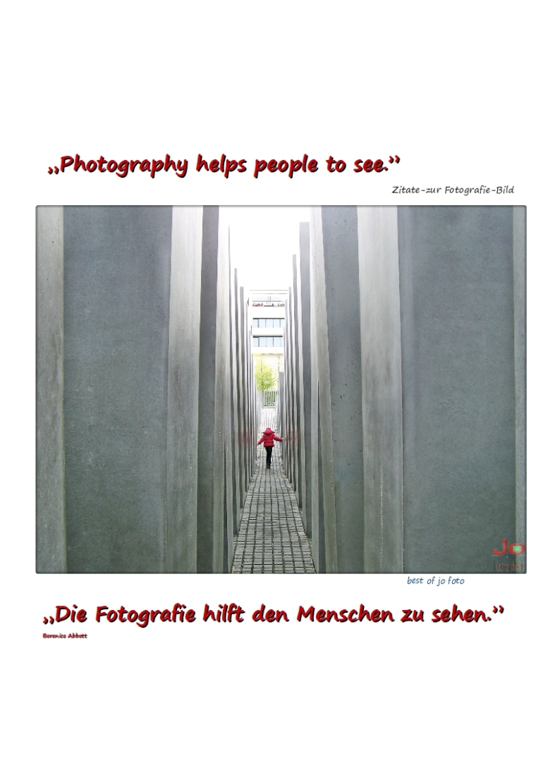 """Photography helps people to see.""15"