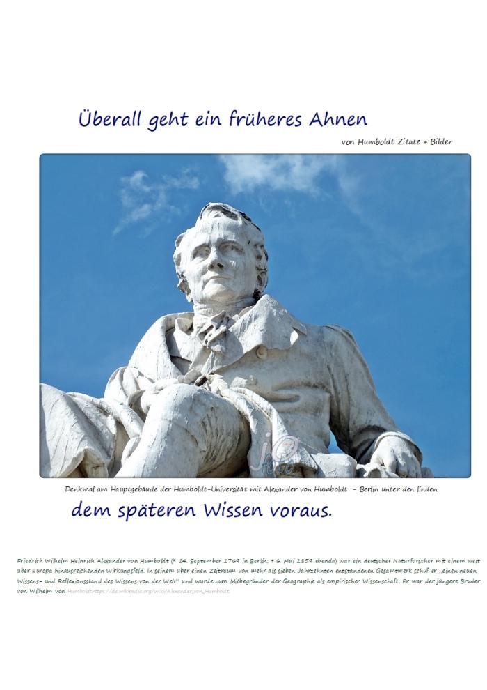 Das Ahnen + Die #Weltanschauung……….