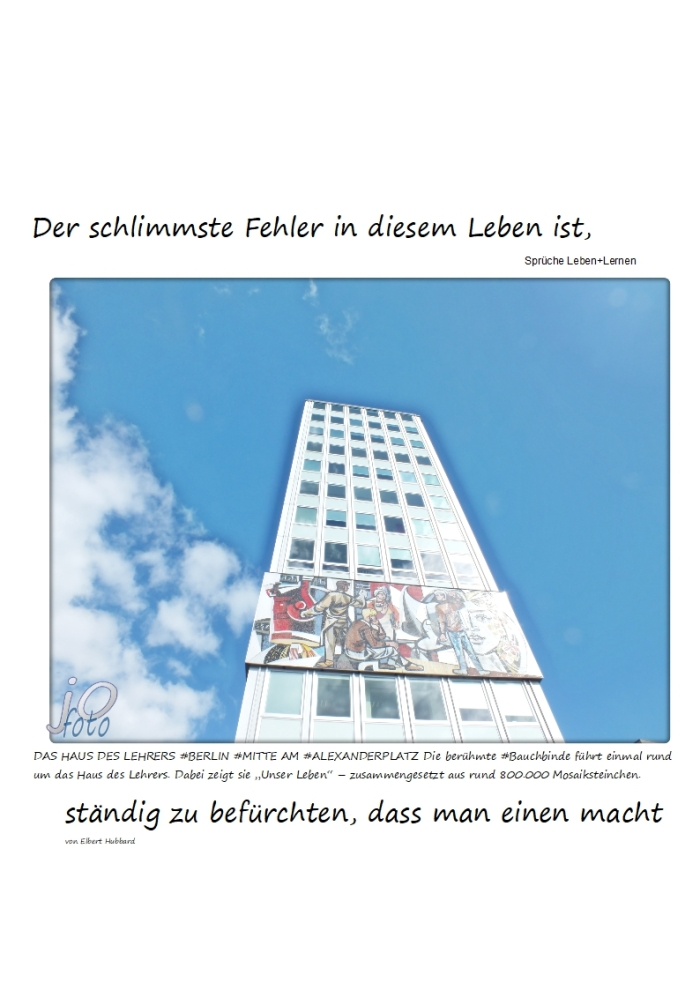 Der #Fehler………….