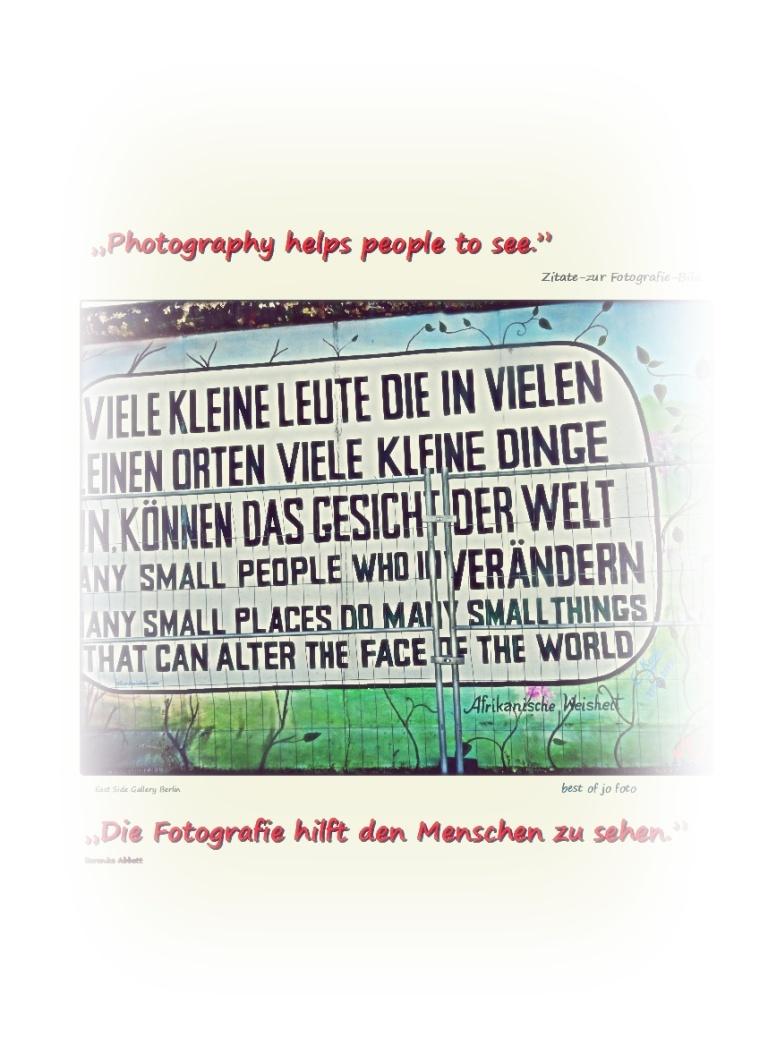 Die Fotografie hilft den Menschen zu sehen39