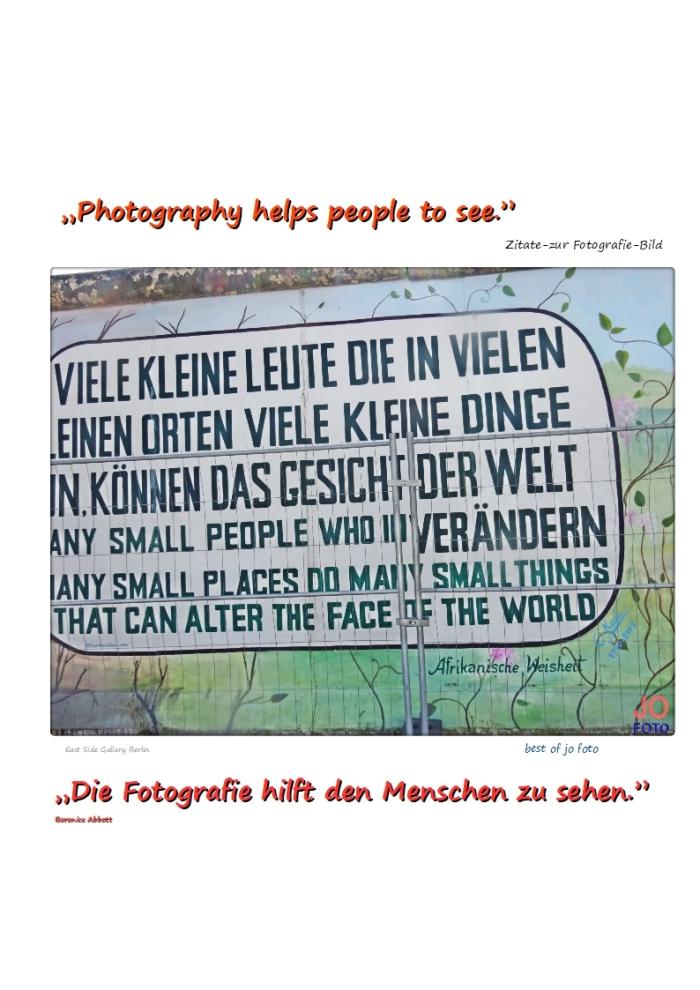 Viele kleine Leute…………..