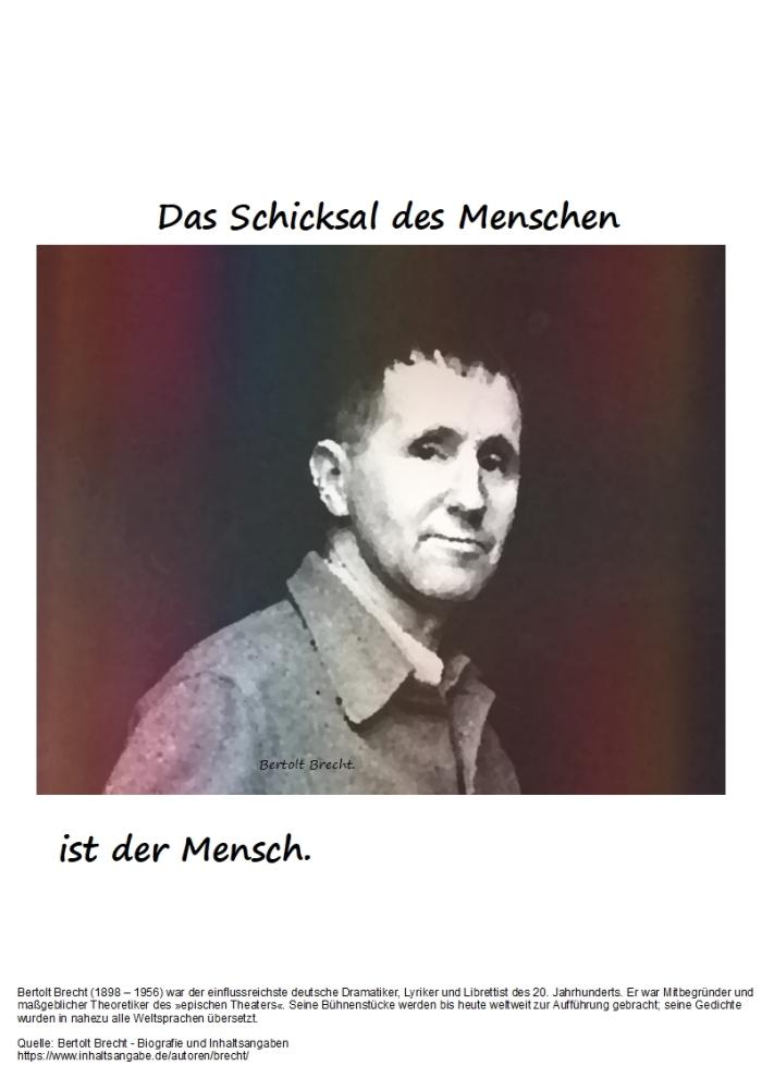 Der Mensch + die Dilettanten…………..