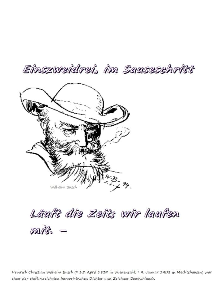 Die ZEIT + die BOSHEIT……….