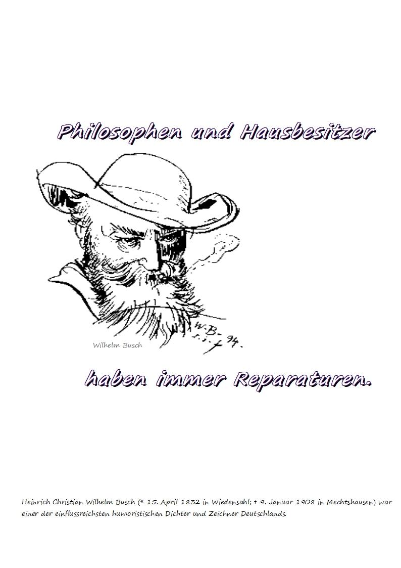Philosophen und Hausbesitzer