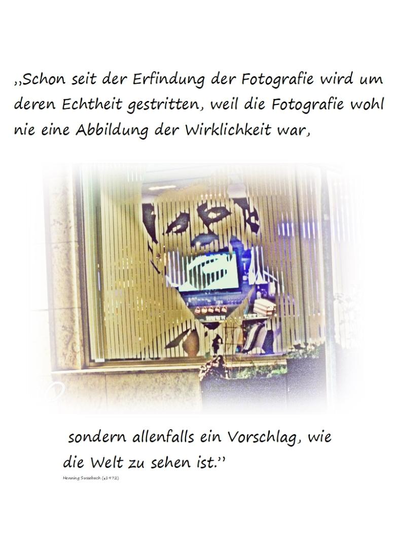 """""""Schon seit der Erfindung der Fotografie3"""