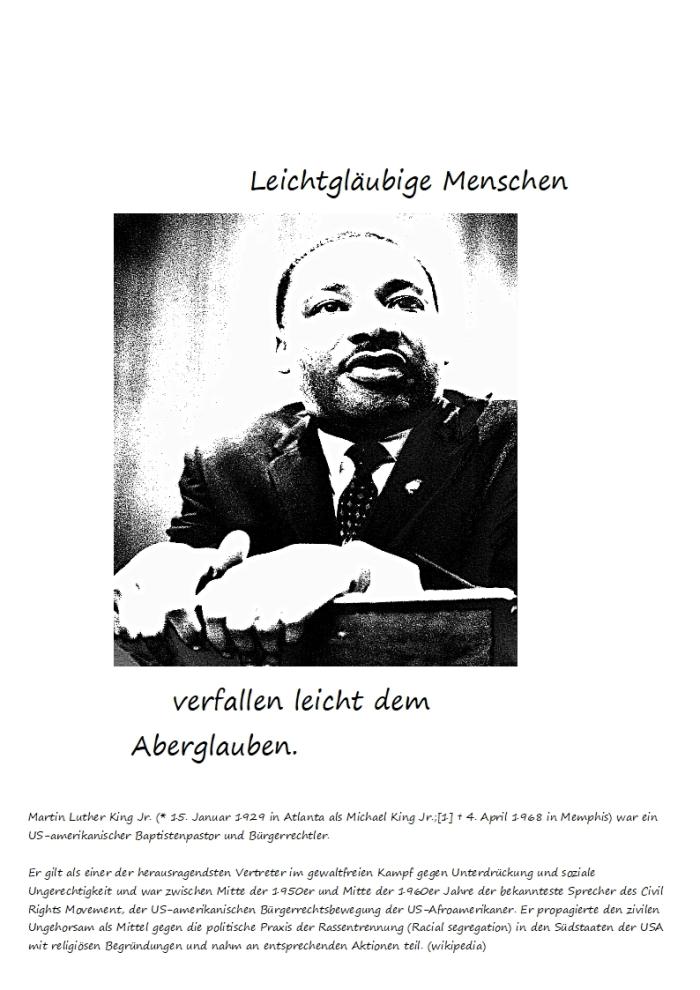 """Der Aberglaube und die """"Liebe""""……."""
