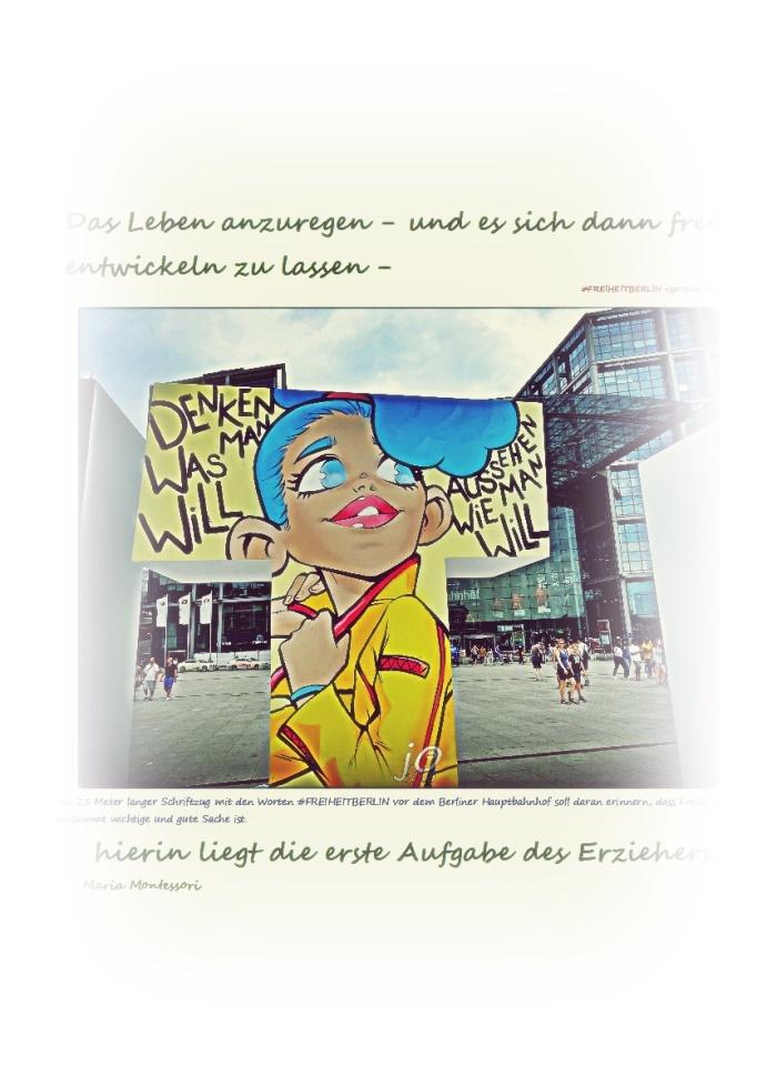 """Das Leben anregen + die""""Freiheit"""""""