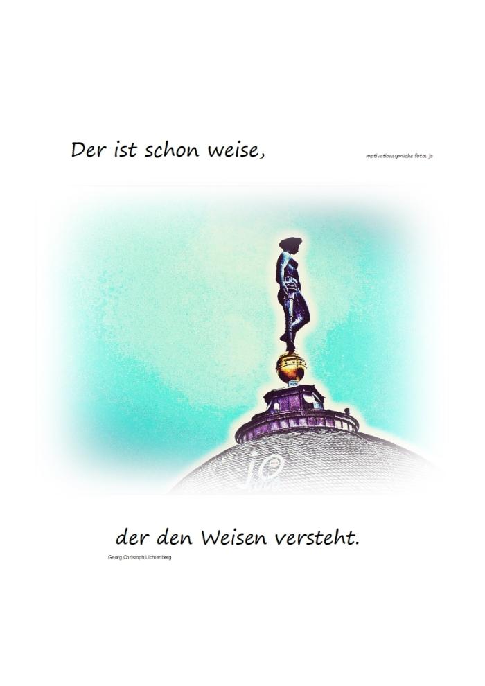 Der Weise und die kleinenFreuden….