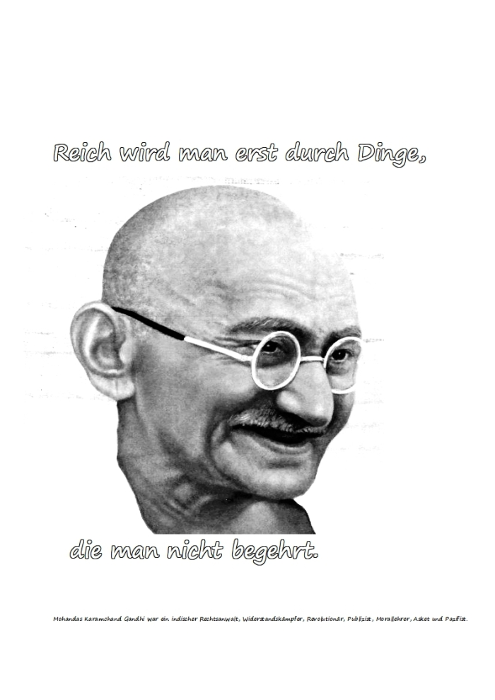 Der Reiche + die Geschwindigkeit…..