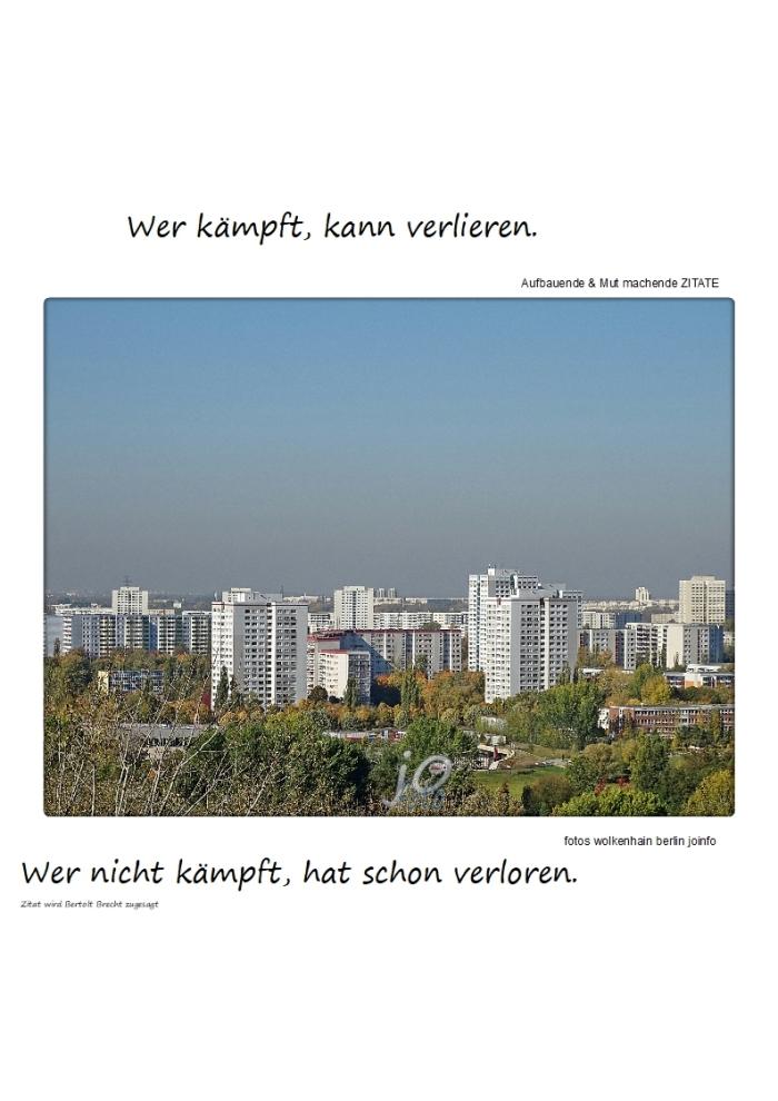 """""""Kämpfen"""" + das """"Ende der Geschichte"""""""