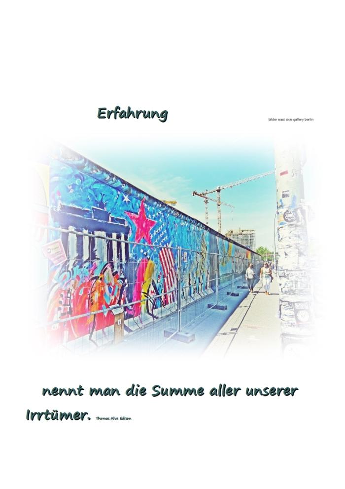 """""""Erfahrung """" + derKluge"""