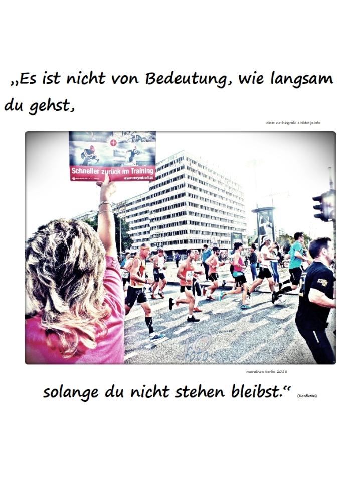"""Der """"langsame Marathon"""""""
