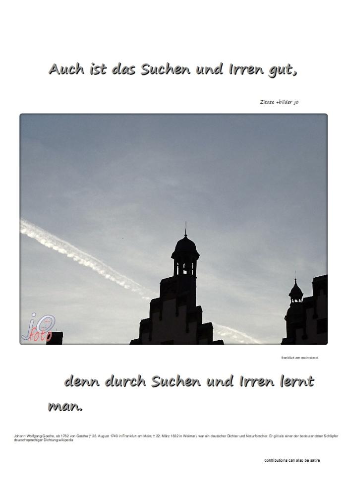 Suchen + Irren…………